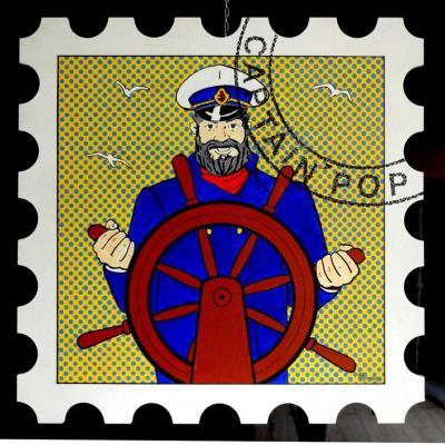 36 d25 72x72cm captain pop