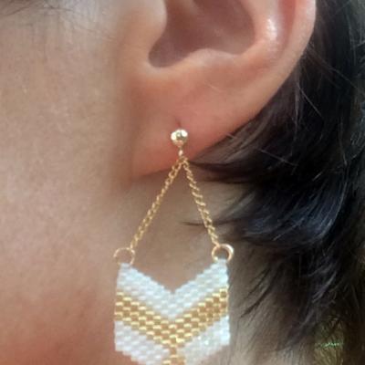 Boucles d oreilles brick stitch 2