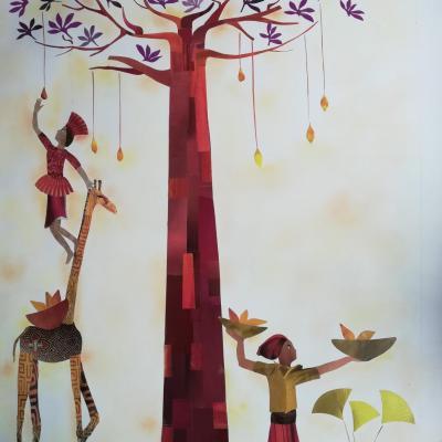 Sous le baobab 60/80