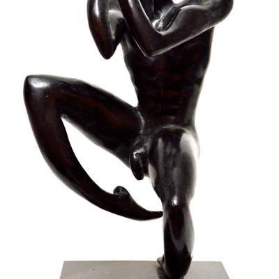 Danseur 2 bronze 70cm