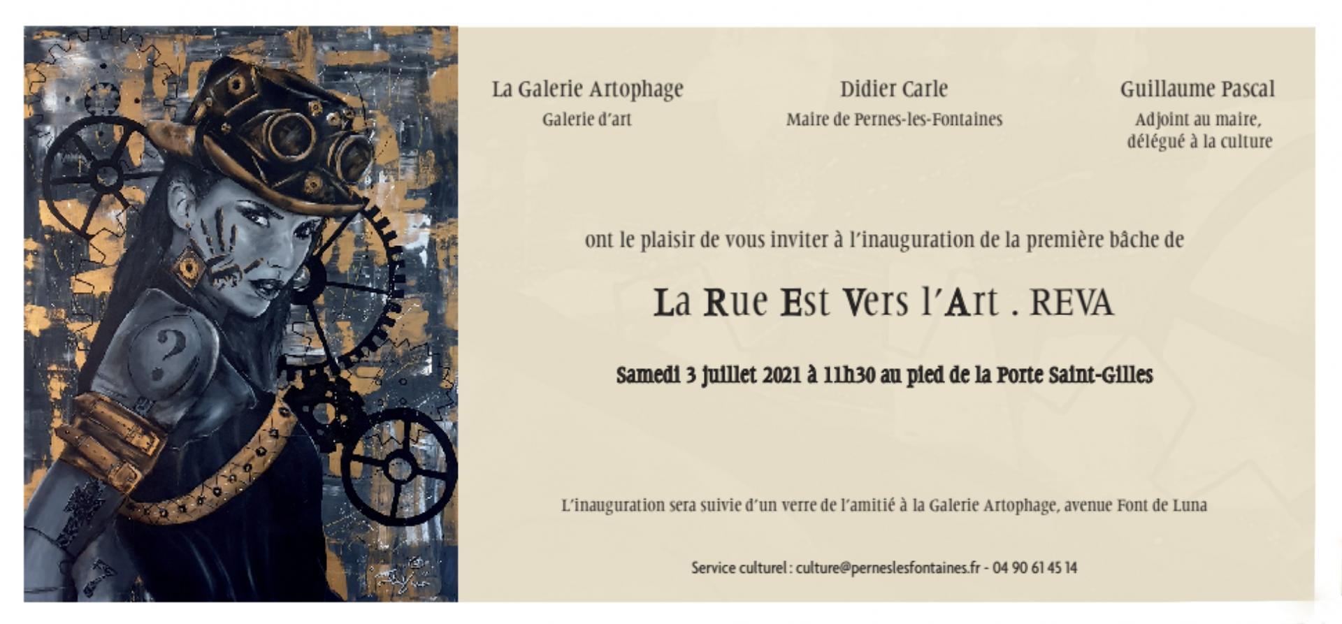 Invitation inauguration premiere bache reva 03 07 2021