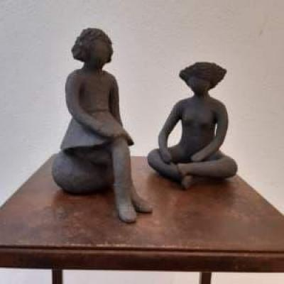 Joelle sculpture tailleur