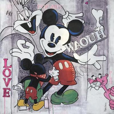 Mickey dessine2