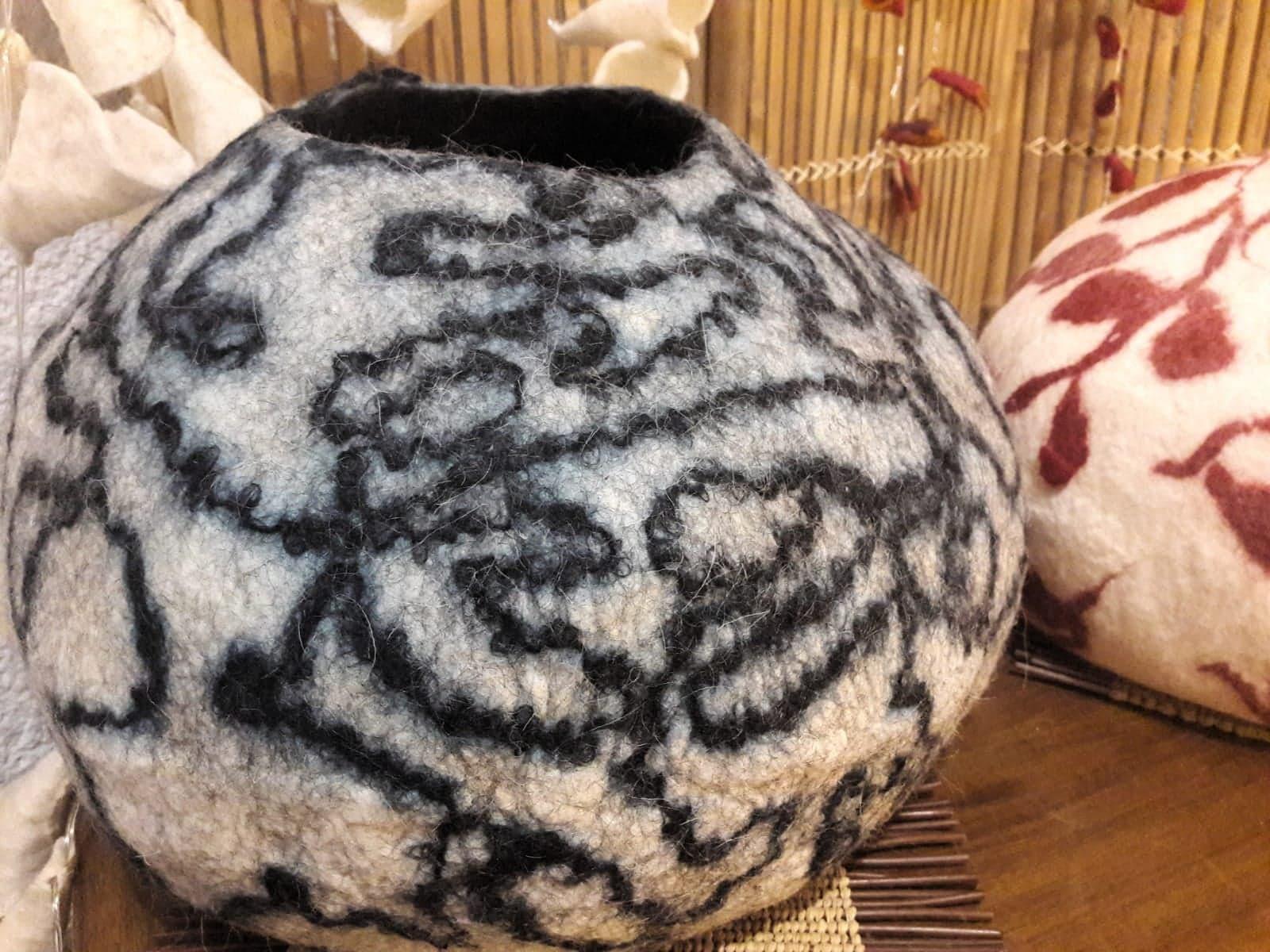Pot en laine