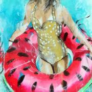 Summer in watermelon