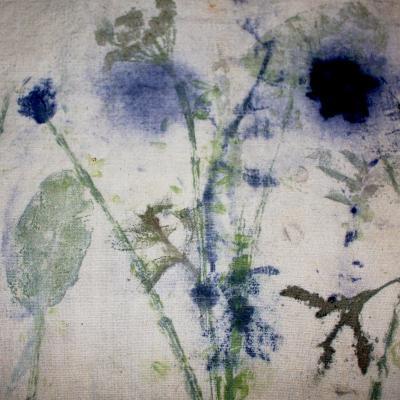 Tissus motifs fleurs 1