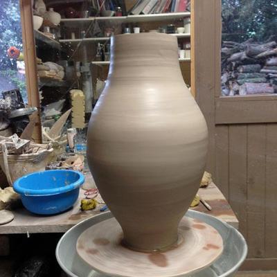 Vase tourne cru 1